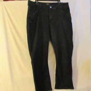 Black Lee Riders Jeans